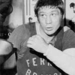 immagine di Bruno Arcari mentre si allena