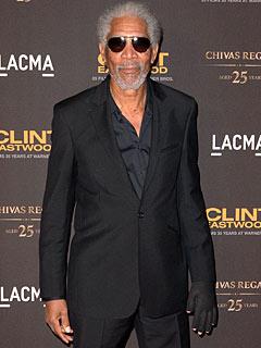 Morgan Freeman diventerà ambidestro?